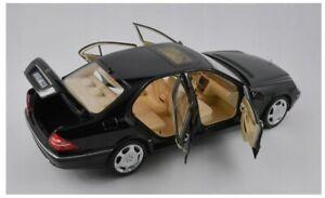 Norev Mercedes Benz S600 V12 W220 1998 Black 1:18 183811