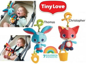 Tiny Love Travel Babies Jumpy Toys Christopher & Thomas