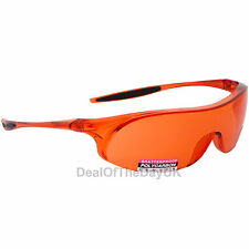 Regatta Cycling Glasses Sports Sunglasses Uva400 Safety Clear Orange Bicycle UK Rgp1a Grey Lens