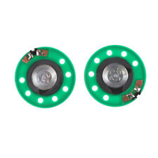 2Pcs 36mm Diameter Aluminum Shell Internal Magnet Speaker 16 Ohm 0.25W  SFHGUK