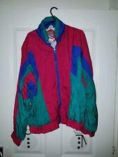 Vintage/retro/ Old School Shell Suit Jacket Size Medium