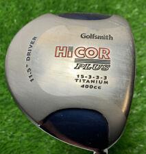 Goldsmith Hi Cor Plus Titanium Driver 11.5° Regular Flex Shaft RH.Headcover 1450