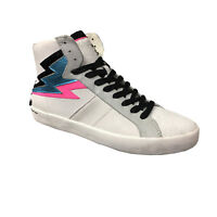 Chaussures Femme Baskets Crime London Blanches Mod Fugitive