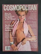 6/1984 Cosmopolitan Michael Jackson Kim Basinger Princess Caroline Daryl Hannah