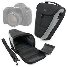 Hard Black Bag For Canon EOS 5D Mark IV & 6D SLR Camera WITH Padded Neck Strap