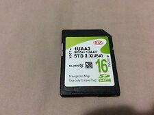 2013-2014 KIA SORENTO, 96554-1UAA3 NAVIGATION SD CARD OEM GENUINE LATEST UPDATE