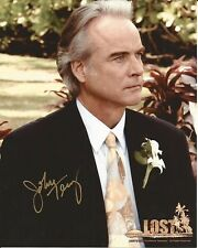 Hand Signed 8x10 photo JOHN TERRY in LOST as CHRISTIAN SHEPHARD + my COA