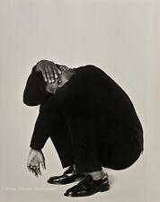 1990 Vintage DENZEL WASHINGTON Black Movie Actor By HERB RITTS Photo Art 16x20