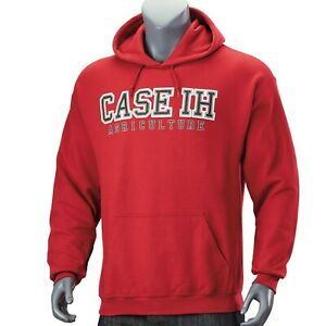 Case IH-Red Hooded Sweatshirt (XL)