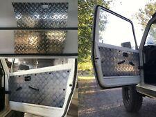 Suzuki 2 Door Gen 2 Sierra Samurai 1981-1999- Checker plate Aluminium Door Panel