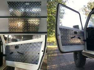 Suzuki 2 Door Gen 2 Sierra Samurai 1981-1999- Checker plate Aluminium Door Panel
