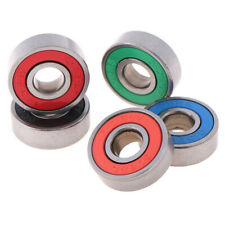 5Pcs Abec-9 608Rs skateboard scooter wheel roller sealed ball bearY*ss