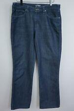 JAA802 Mujer Armani Jeans Azul Vaqueros Boot-Cut Talla W32 L28