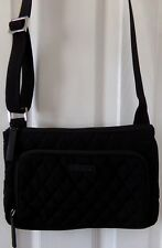 NWT NEW AUTHENTIC VERA BRADLEY LITTLE HIPSTER  CLASSIC BLACK  $79.00