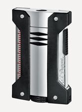 NEW S.T. Dupont Torch Lighter - Defi Extreme - Chrome Gift Boxed ST