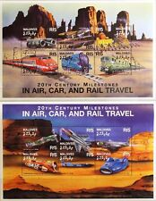 MALDIVES MALEDIVEN 2000 3631-46 Speed Records Cars Trains Airplanes MNH