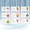 Christmas Personalised Present Stickers Labels Perfect Gift Tags Xmas Santa Elf