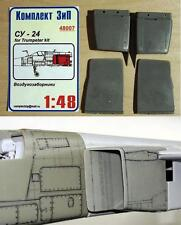 "1/48. ""Complete ZIP"" Sukhoi Su-24 correct air intakes 48007"