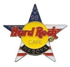 Hard Rock Cafe NAGOYA 1998 July 4th PIN USA Star with HRC Logo HRC Catalog #6123