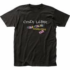 Cyndi Lauper 1986 Cyndi Lauper True Colors T-Shirt Black S-5XL TT0179