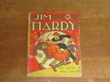 1939 JIM HARDY SINGLE SERIES #6 (#1) IMPOSSIBLE TO FIND GOLDEN AGE COMPLETE BOOK