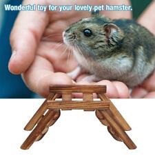 Wooden Ladder Bridge Shelf Pet Training Toys For Parrot Bird Rat Hamster Gym