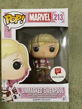 Funko Pop Marvel Unmasked Gwenpool Walgreens Exclusive