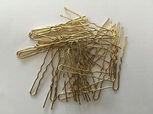 STRONG WAVED HAIR PINS SHORT 5cm 36 Per Pack 3 Shades/Colours Blonde/Brown/Black