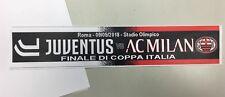 SCIARPA FC JUVENTUS VS AC MILAN FINALE DI COPPA ITALIA 2017/18 ProdottoUfficiale