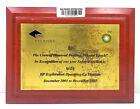 """Vintage Antique Wooden Plaque & Sign """"Diamond bp Vietnam"""" For Home Decor"""