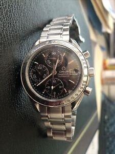 OMEGA Speedmaster Date 175.0083 Chronograph Mens Watch Black Dial