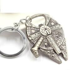 Star Wars Millennium Falcon Keychain Ring Keyring Bottle Opener