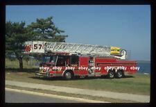 South Plainfield NJ 1993 Emergency One 95' RM Tower Fire Apparatus Slide
