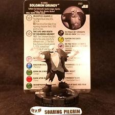 Solomon Grundy - 050 - Rare Dc Justice League Unlimited Heroclix Set #50