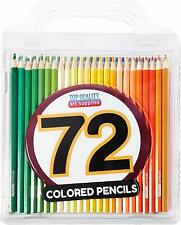 Best Colored Pencils - 72 Coloring Pencil Set With Case - Artist Professional