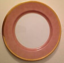 Versailles Dusty Rose by Fitz & Floyd Dinner Plate Pink with Gold trim