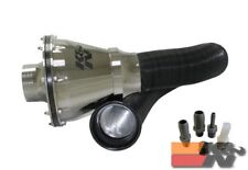 K&N Universal Air Intake System For APOLLO CIS , 70MM OD FLG,PP CHROME RC-5052AS
