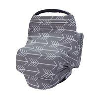 Nursing Breastfeeding Cover Scarf - Car Seat Canopy, Multi use Baby Car seat ...