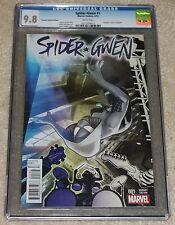 SPIDER-GWEN 1 CGC 9.8 ADAM HUGHES CONQUEST HYBRID VARIANT SPIDER-MAN IN HAND!!!
