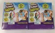 Kinetic Sand Slime- Sand Slime Lab- Make Your Own Sand Slime- 2 Pack!