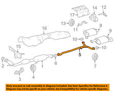 TOYOTA OEM 2018 Camry 2.5L-L4 Exhaust-Intermed Pipe 17420F0110