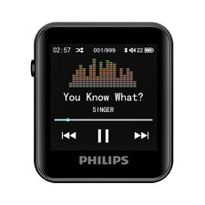 Philips Mini MP3 Player SA6116 Bluetooth Sports Digital Music Player with Clip