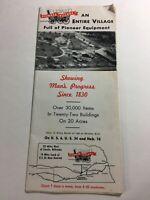 Vintage Pioneer Village Historical Brochure Minden Nebraska