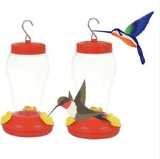 Garden Collection Hanging Hummingbird Feeders (pack of 2) 6.75x4 in Usa Seller