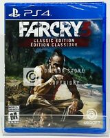 Far Cry 3 Classic Edition - PS4 - Brand New | Factory Sealed