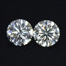 1.00 TCW CVD / HPHT K Color VS-SI 4.9mm LAB GROWN DIAMOND STUDS
