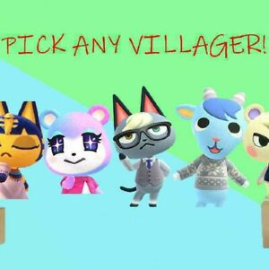 Pick Any Villager! Move In Animal Crossing