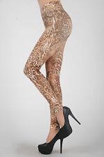 Sexy Leopard Leo Leggings Leggins Treggings Hose Leggin 34 36 XS S
