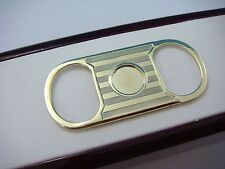 14K YELLOW GOLD VINTAGE CIGAR CUTTER 10.3 GRAMS, 2 INCH LENGTH.