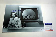 BARBARA WALTERS THE VIEW SIGNED AUTOGRAPH 11X14 PHOTO PSA/DNA COA #K38091
